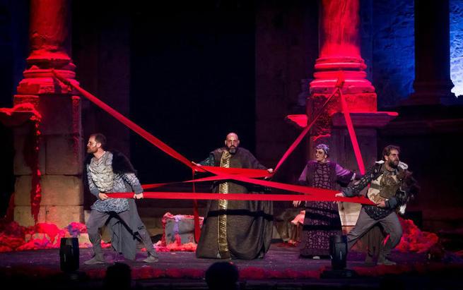 """Imagen: La tragedia épica """"El Cerco de Numancia"""" y """"Sanchica, Princesa de Barataria"""" cierran el ciclo cervantino del Festival de Teatro de Chinchilla"""