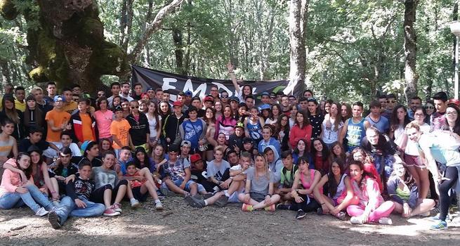 Imagen: Un campamento clausura el programa juvenil EMPU-G