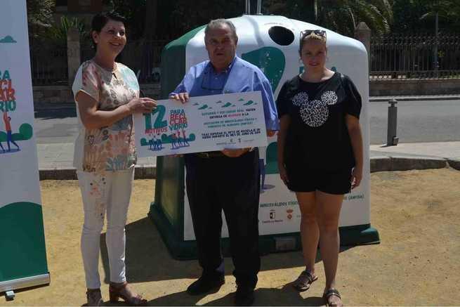 """Almagro supera el reto de reciclaje de vidrio durante junio, en la iniciativa """"12 motivos para reciclar vidrio"""", a favor de AMFISA"""