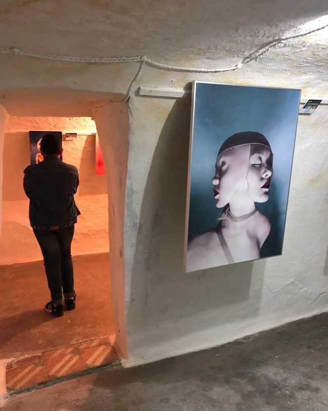 """Inaugurada la 12ª Muestra Internacional de Arte Contemporáneo """"EntreSilos"""" en Villacañas"""