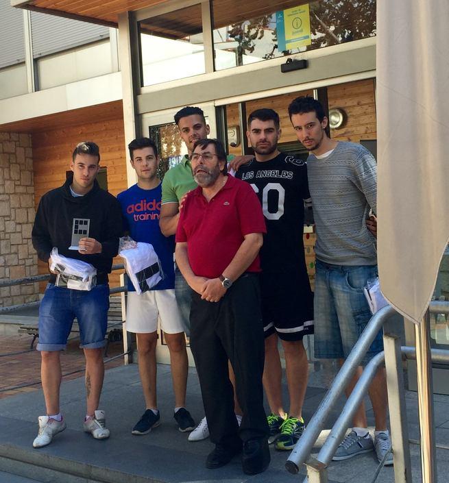 'Pakillos Team' se hace con el trofeo al equipo ganador del torneo de Fútbol Sala 'Verano Joven 2016' de Cuenca