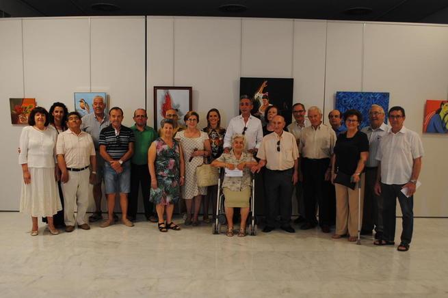 Imagen: Jesús Martín clausuró la XXXV Exposición de Artesanía del Centro de Mayores