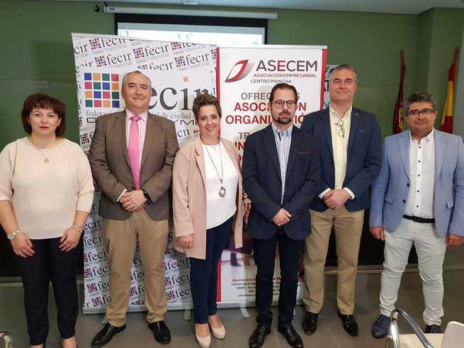 La Asociación Empresarial Centro Mancha (ASECEM) se integra en FECIR