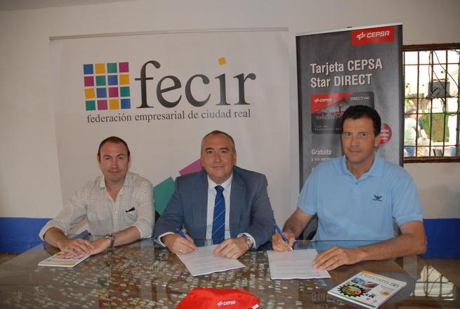 Imagen: Importante convenio entre FECIR y CEPSA