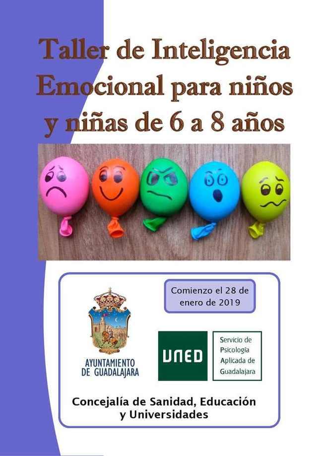 La Concejalía de Educación de Guadalajara pone en marcha un taller de inteligencia emocional para niños y niñas de entre 6 y 8 años