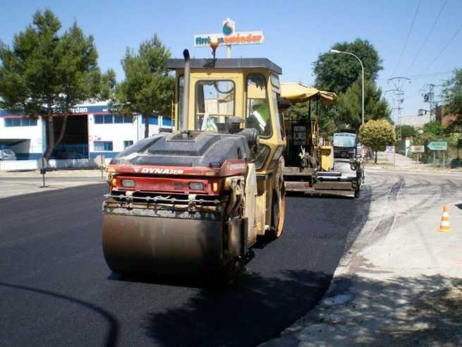 Las obras de asfaltado y cortes de calles en Campollano de Albacete se posponen con motivo de las lluvias
