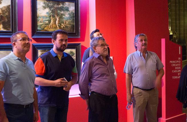 Más de 800 personas pasaron el pasado martes por la exposición 'aTempora', la jornada con mayor número de visitantes