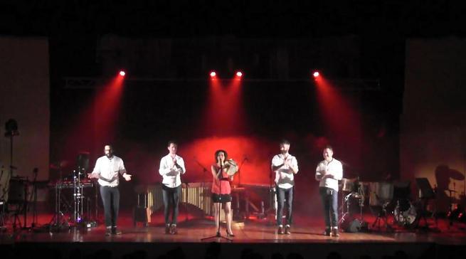 """Imagen: Folk y percusión en directo se dan de la mano gracias a Vanesa Muela y el grupo Odaiko en """"Veranos en Cuenca"""""""