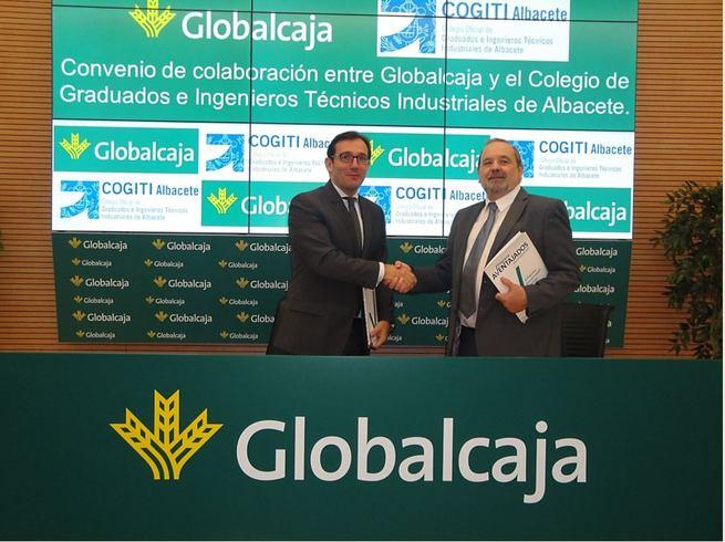 Convenio de Globalcaja con el Colegio de Graduados e Ingenieros Técnicos Industriales de Albacete