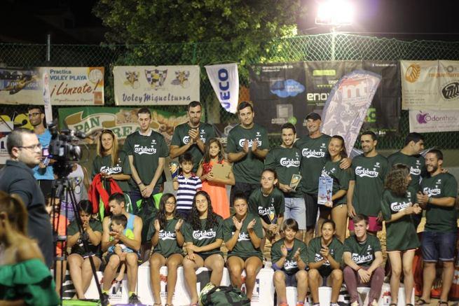 Clausurado con brillantez el XI Torneo Voley Playa de Miguelturra