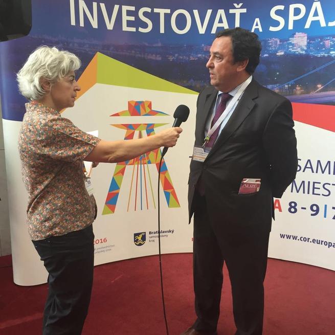 """Imagen: Castilla La Mancha defiende en Europa """"la atracción de inversiones en zonas despobladas y en regiones con importante potencial de desarrollo"""""""