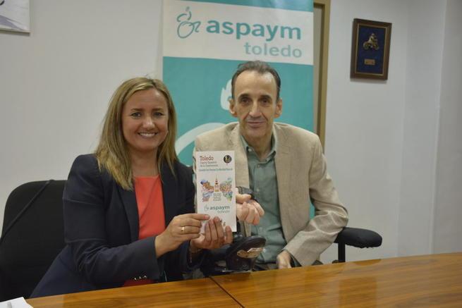 Imagen: El Ayuntamiento de Toledo y ASPAYM presentan una guía de restaurantes accesibles para personas con movilidad reducida
