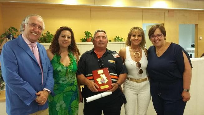 Imagen: El Gobierno regional reconoce la labor 3 voluntarios de Protección Civil, 2 policías locales y 2 agrupaciones de Ciudad Real