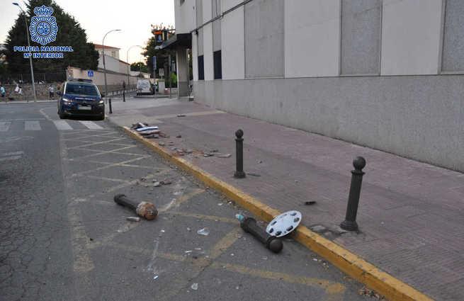 Detenido un hombre por conducción temeraria, daños y positivo en alcoholemia en Ciudad Real