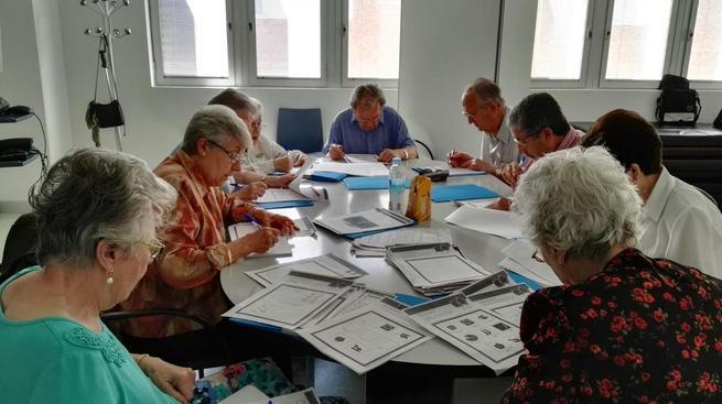 Imagen: Más de un centenar de personas mayores de Cuenca participan en talleres de ejercicio físico y de estimulación cognitiva