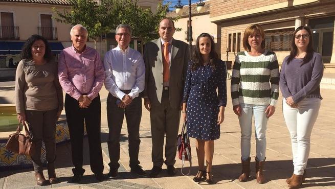 Imagen: Los directores provinciales de Bienestar Social y Sanidad visitan los espacios asistenciales de la Comarca de Infantes