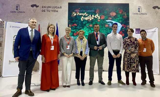 """Socuéllamos hace su presentación en Fitur 2019 como """"destino ineludible"""" para los amantes del vino"""
