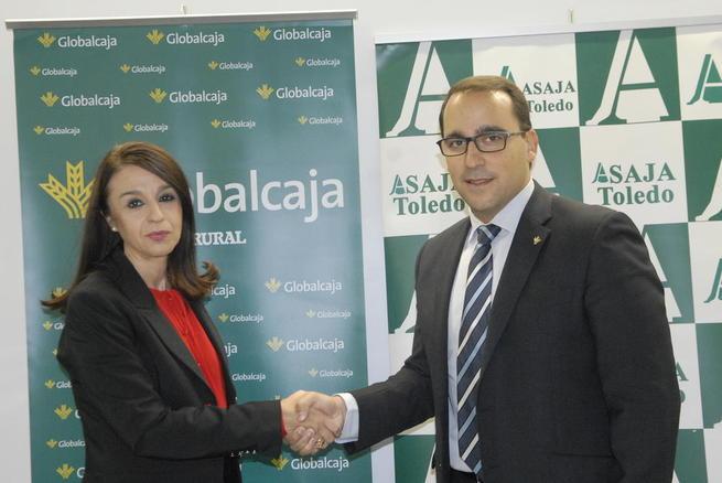 Imagen: Importante convenio de Globalcaja con Asaja Toledo para dar respuesta a las adversidades climáticas padecidas por el sector