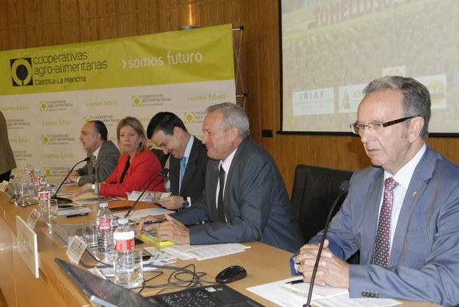 """Imagen: Globalcaja en la inauguración de la jornada """"El nuevo programa de desarrollo rural"""""""