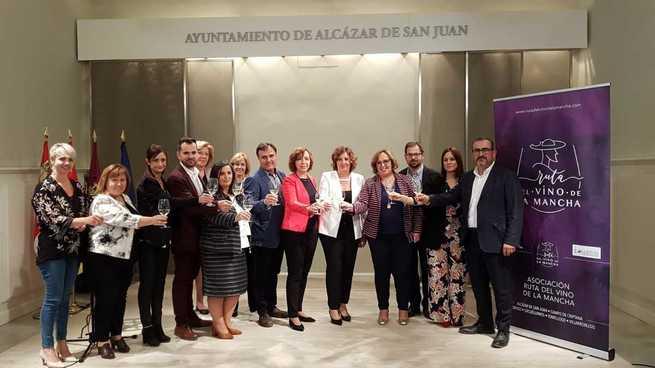 Turismo Socuéllamos, presente en la presentación de la Ruta del Vino de La Mancha