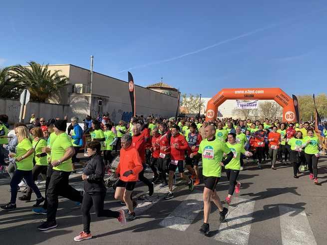 La IX Carrera Popular por la Igualdad en Illescas se celebra con ambiente festivo