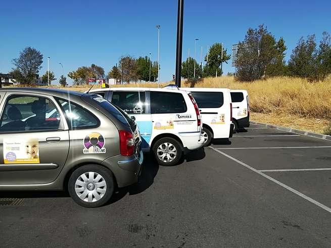 La Asociación Provincial de Taxistas de Ciudad Real (APTCR), con la Fundación Aladina