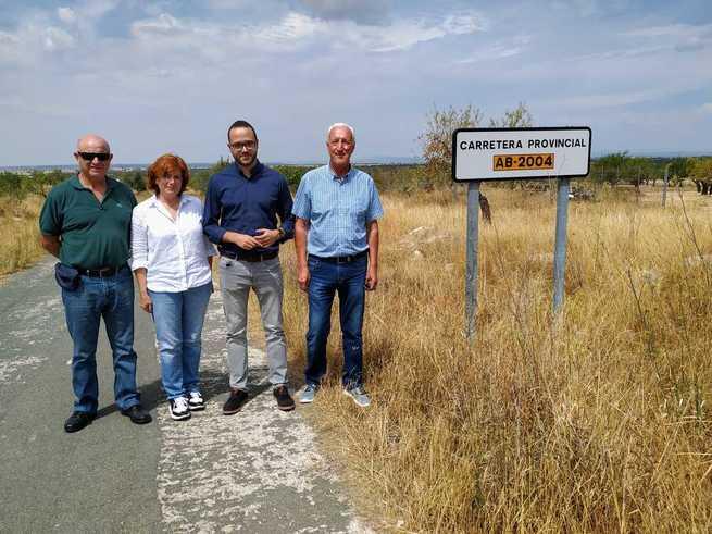 La Diputación de Albacete acometerá labores de limpieza en la AB-2004 entre El Villar y La Pared