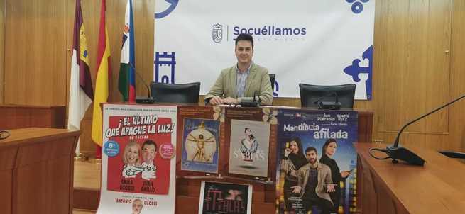 """La """"XXV Muestra Nacional de Teatro Villa de Socuéllamos"""" se celebrará del 29 de octubre al 2 de noviembre"""