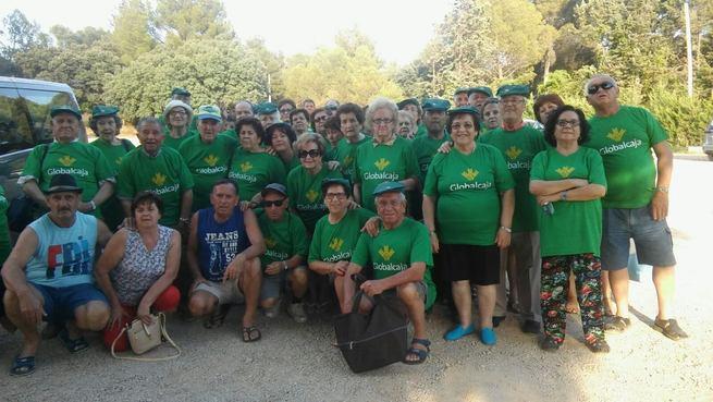 Jornada de convivencia de la Asociación de Jubilados y Pensionistas de Miguelturra en las Lagunas de Ruidera