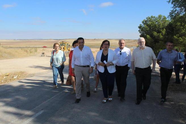 Imagen: El Gobierno regional inicia las obras de mejora y refuerzo del tramo comprendido entre la intersección con la carretera CM-310 y la localidad de Campo de Criptana