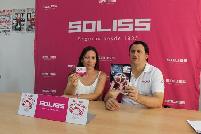 """""""Está en tu mano"""", slogan de la campaña de abonados del Seguros Soliss Alcázar Basket"""