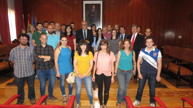 Imagen: Concluye la quinta edición del programa de becas en empresas de Manzanares