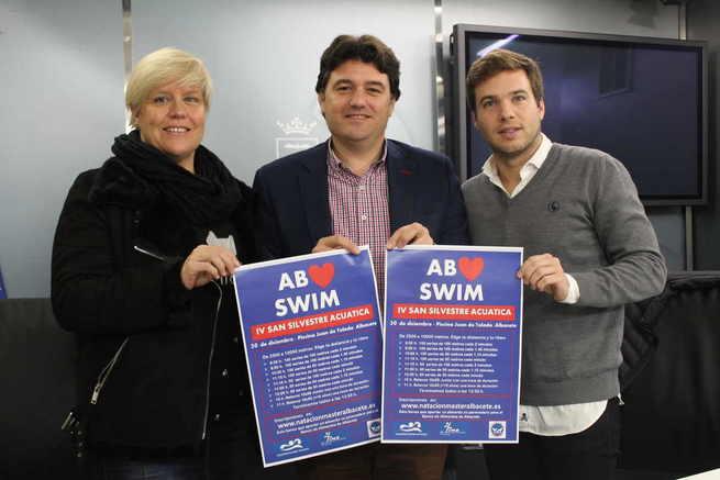 El 30 de diciembre los albaceteños despedirán el año nadando en la `IV San Silvestre Acuática´ organizada por el Club Albacete Master Natación en colaboración con el IMD