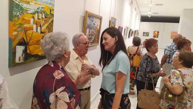 Inaugurada la XXXVIII Exposición de Artesanía de Mayores del Centro de Bonillas en Valdepeñas