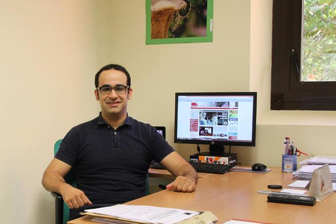Imagen: La Sociedad Internacional de Electroquímica premia la trayectoria investigadora del joven profesor de la UCLM Javier Llanos