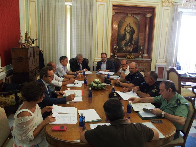 La Junta Local de Seguridad de Cuenca aprueba el Plan de Coordinación de la Feria y Fiestas de San Julián 2016