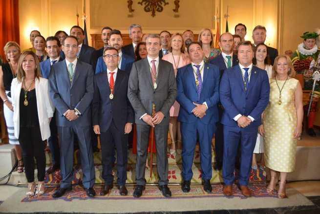La nueva corporación de la Diputación de Toledo ha tomado posesión este mediodía