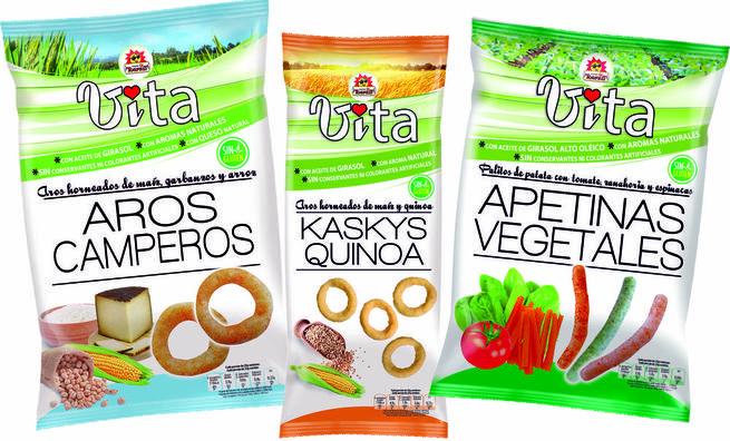 Imagen: TOSFRIT lanza 'Vita', la nueva línea de snacks para el consumidor que cuida su salud sin renunciar al sabor