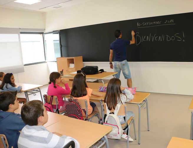 El curso comienza con nervios, ilusión y total normalidad en el Colegio Número 5 de Miguelturra