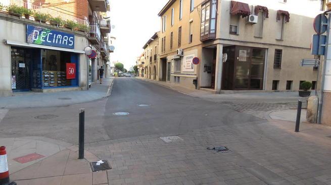 Imagen: Cortes y regulación del tráfico por avance de obras en varias calles de Manzanares