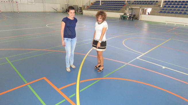 Importantes mejoras en el pabellón polideportivo del Nuevo Manzanares