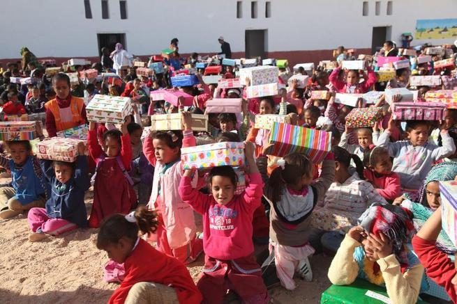 Imagen: Cinco años de 'Operación Niño de la Navidad' en Daimiel
