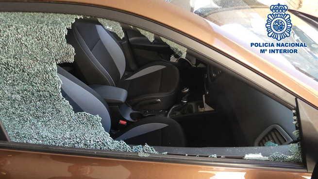 Detenido en Toledo por robos con fuerza en vehículos