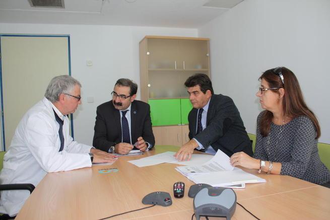 Imagen: El Plan Funcional para la construcción del nuevo hospital de Puertollano comienza a dar sus primeros pasos