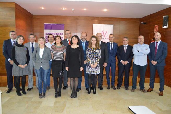 """Imagen: Martínez Guijarro: """"Castilla-La Mancha volverá a ser pionera en la lucha contra la violencia de género"""""""
