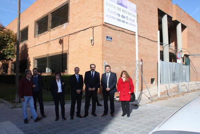 Imagen: El Gobierno regional reitera su compromiso para construir el segundo Centro de Salud de Azuqueca de Henares esta legislatura