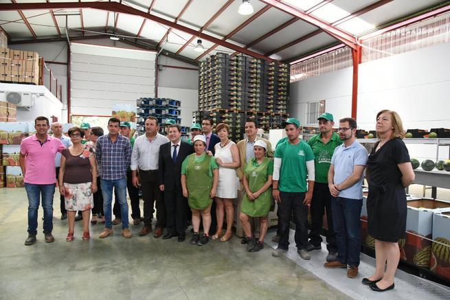 Imagen: Castilla La Mancha destaca el carácter emprendedor de los jóvenes agricultores y defiende su acceso al agua para crear más empleo