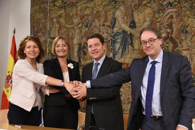 """Imagen: El presidente García-Page urge a abordar """"cuanto antes"""" la revisión del Pacto de Toledo de pensiones"""