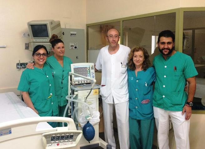 Imagen: La UCI del Hospital de Cuenca trabaja para convertirse en un espacio de puertas abiertas a los familiares de los pacientes