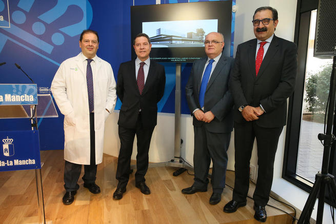 El Gobierno regional anuncia el inicio de las obras del Complejo Hospitalario Universitario de Albacete tras cuatro años paralizadas